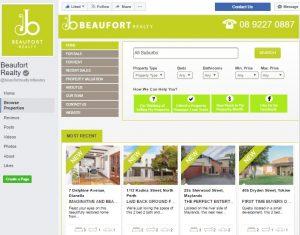Real estate agency Facebook App