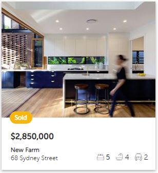 property valuation New Farm QLD 4005